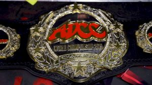ADCC Double Champion Belt